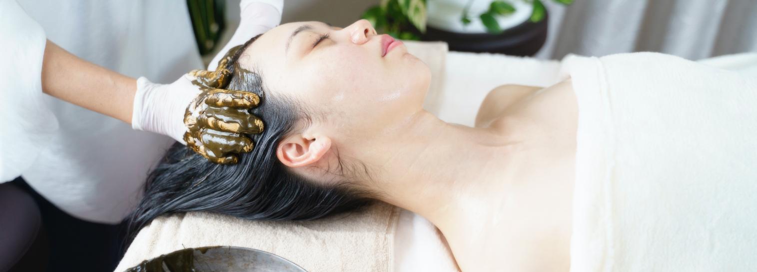 アーユルヴェーディックヘナ - 施術メニュー Relaxation Menu | クリスタルビューティー 広島 天然100%ヘナ 美と健康のエステ
