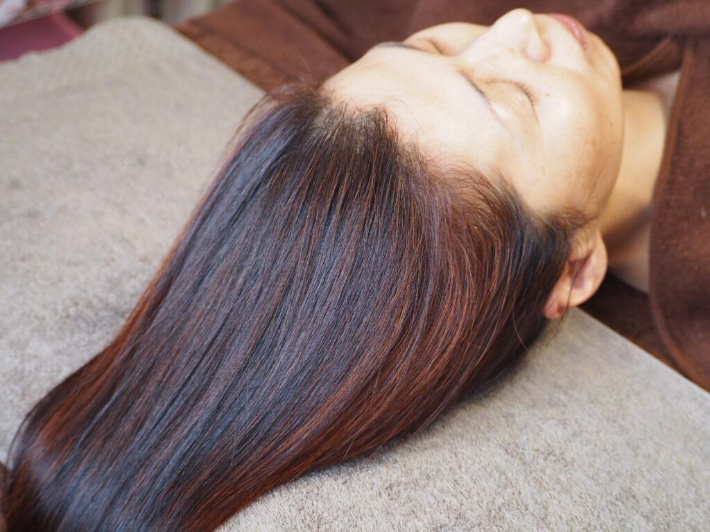写真1 | アーユルヴェーディック美髪ヘナ | クリスタルビューティー 広島 天然100%ヘナ 美と健康のエステ