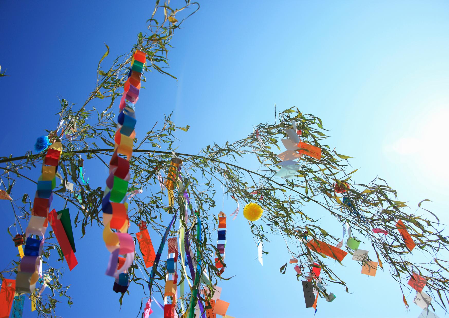 七夕の願いごと | クリスタルビューティー 広島 天然100%ヘナ 美と健康のエステ