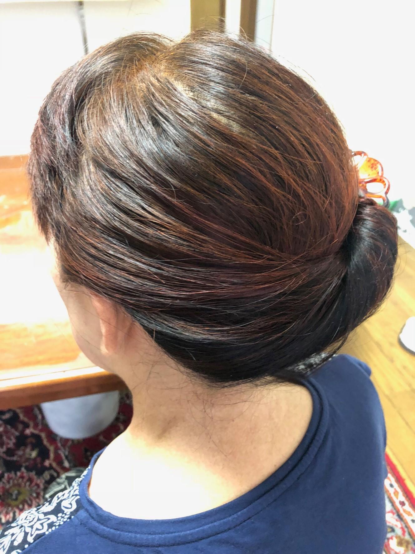 80代でも美しい髪 | クリスタルビューティー 広島 天然100%ヘナ 美と健康のエステ
