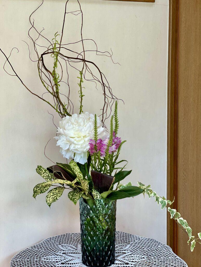 今週女神様をお迎えしてますお花   最後の女神様をお見送りして   クリスタルビューティー 広島 天然100%ヘナ 美と健康のエステ